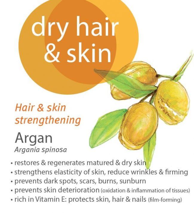 Florame Argan Organic Vegetable Oil (Desodorized), 50ml