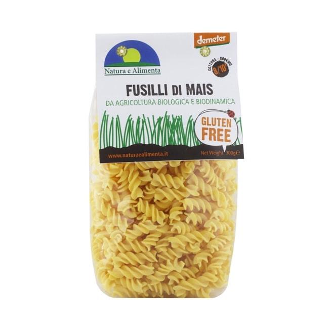 Natura e Alimenta Gluten-Free Corn Fusili Pasta, 300g