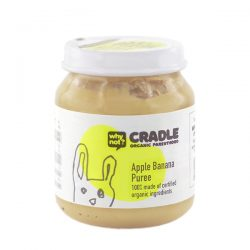 Why Not Cradle Apple Banana Puree 130g