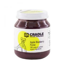 Why Not Cradle Apple Blueberry Puree 130g