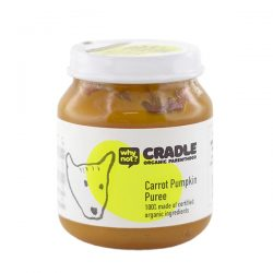 Why Not Cradle Carrot Pumpkin Puree 130g